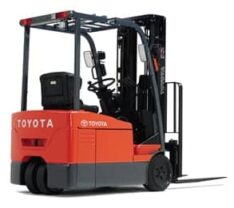 Toyota 2.5 tonne battery electric counter balance