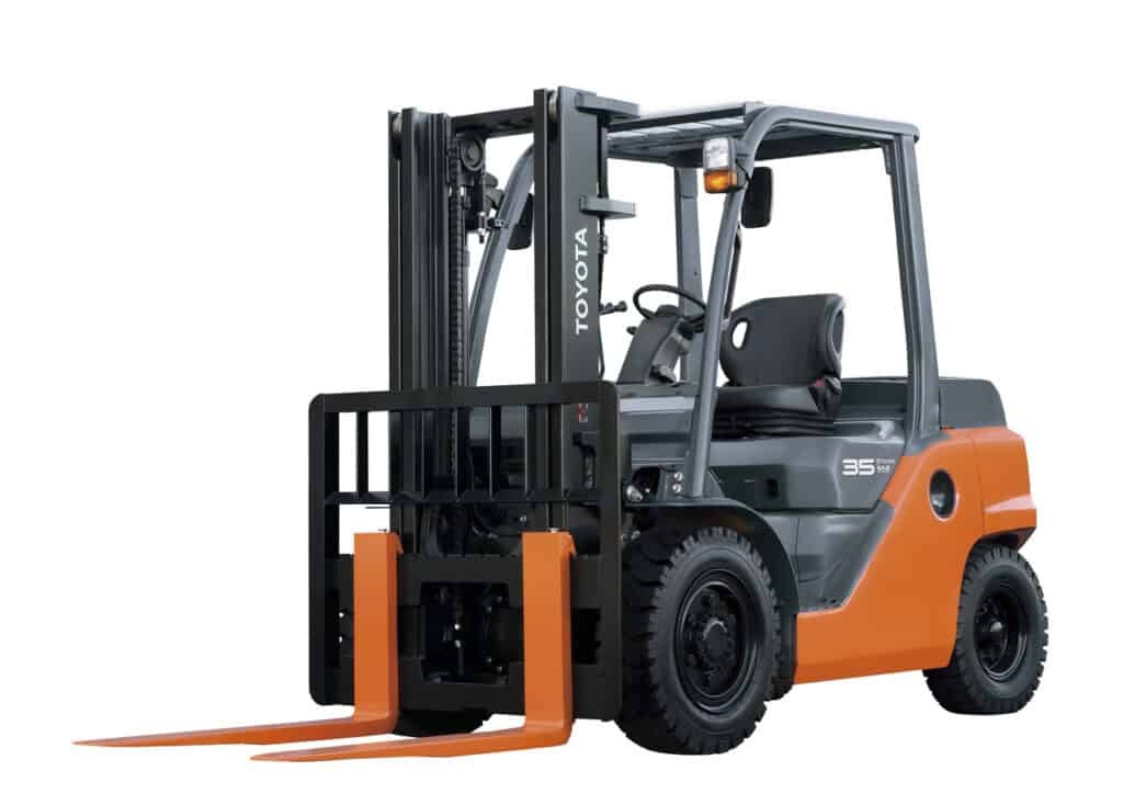 Toyota Lpgas Forklift 8FG35